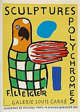 FERNAND LEGER (1881-1955)   EXPOSITION GALERIE LOUIS CARRE, 1953