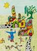 NIKI DE SAINT-PHALLE (1930-2002) DOOR PORTE Lithographie en couleurs Sign, Niki de Saint Phalle, €800