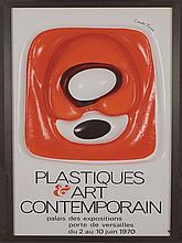 François CANTE PACOS (NÉ EN 1946)   Affiche publicitaire