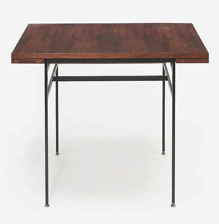 alain richard n en 1926 table rectangulaire. Black Bedroom Furniture Sets. Home Design Ideas