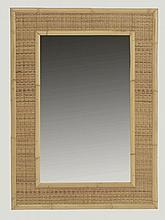 Travail italien   Miroir rectangulaire