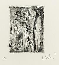 OLIVIER DEBRE (1920 - 1999) - FEMME ET ENFANT, 1949