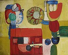 DORA TUYNMAN (1926-1979) FORMATION DES FLEURS, 1953