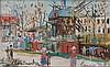 MAURICE UTRILLO (1883-1955) MONTMARTRE, LE MOULIN DE LA GALETTE Gouache sur, Maurice Utrillo, €5,000