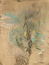 JACQUES HEROLD (1910-1987)  COMPOSITION, CIRCA 1960   Gouache, encre e