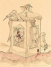 JORGE CAMACHO (1934-2011)  HISTOIRE DE L'OEIL - LA CONFESSION DE SIMON
