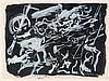 EDOUARD PIGNON (1905-1993)  LA PETITE BATAILLE NOIRE, 1970  Gouache su, Edouard Pignon, €400