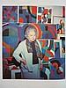 SONIA DELAUNAY (1885-1979)  RYTHME COLORÉ (573), 1957  Gouache sur pap