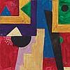 BORIS LACROIX (1902-1984)  COMPOSITION, CIRCA 1930  Gouache sur papier, Boris Jean Lacroix, €300