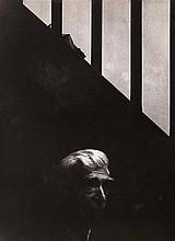 Gaston Xhardez   1924-1996  Portrait du sculpteur et ami de l'artiste OSSIP ZADKINE (1890 –