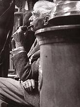 Gaston Xhardez  1924-1996  Portrait du sculpteur et ami de l'artiste OSSIP ZADKINE (1890 – 1