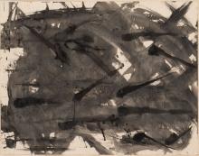 ENGLEBERT VAN ANDERLECHT (1918-1961) Sans titre (n°10A), 1955. Encre