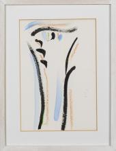 OLIVIER DEBRE (1920-1999) Sans titre. Gouache, aquarelle et pastel s