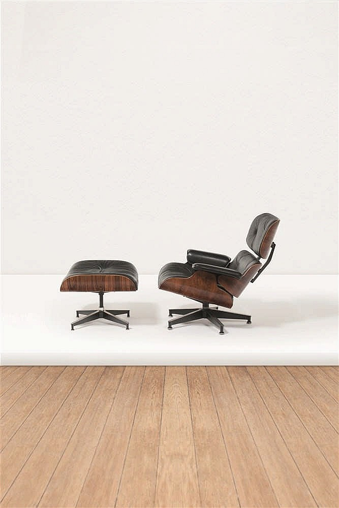 Charles eames 1907 1978 ray eames 1912 1988 670 671 for Charles et ray eames chaise
