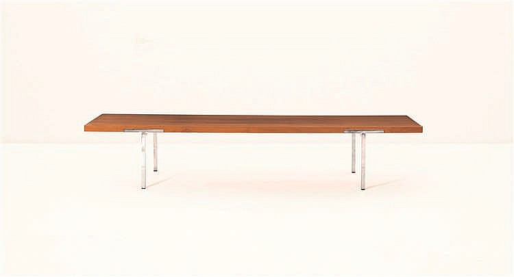 Antoine philippon jacqueline lecoq table basse noyer et ac for Construire sa table basse