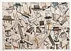 Antonio Segui (né en 1934) Sans titre, 1990. Pointe sèche et aqua, Antonio H. Segui, €200