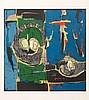 Claude Venard (1913-1999) Sans titre. Lithographie en couleu, Claude Venard, €80