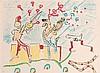 Roberto MATTA (1911-2002) Les Musiciens. Lithographie en couleurs, Roberto Echaurren Matta, €160