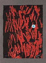 Joan Miro (1893-1983) Liberté des libertés, 1971. Livre-tableau c