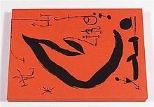 Joan Miro (1893-1983) Les essencies de la terra, 1968. In-folio c