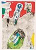 Asger Jorn (1914-1973) La vallée du charme, 1969. Lithographie en, Asger Jorn, €600