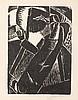 Frits Van den Berghe (1883-1939) Zonneschilder, 1919. Linogr, Frits van den Berghe, €400