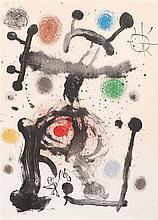 Joan Miro (1893-1983) Betelegeuse, 1965. Lithographie en couleurs