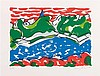 Maurice WYCKAERT (1923-1996) Sans titre. Lithographie en cou, Maurice Wyckaert, €100
