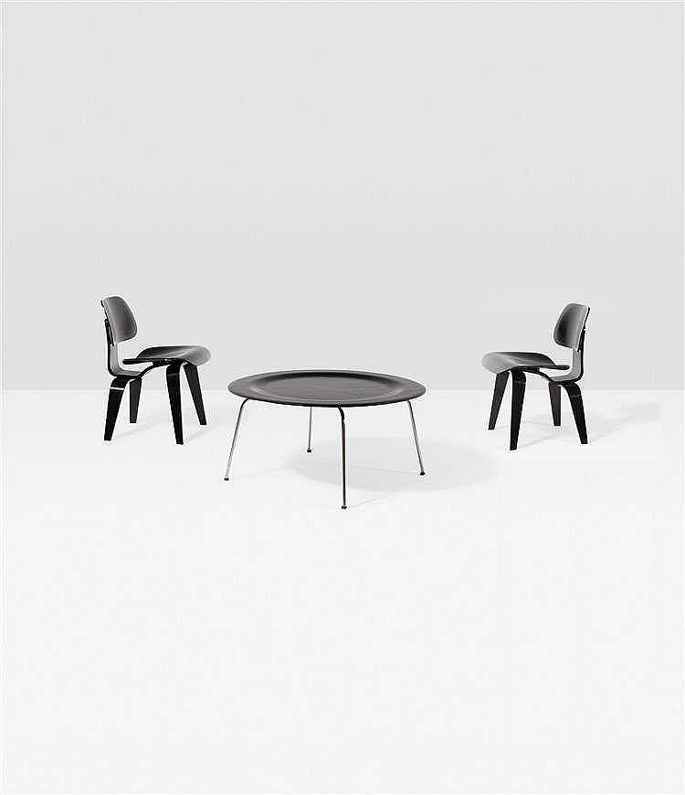 charles eames 1907 1978 ray eames 1912 1988 ctm table. Black Bedroom Furniture Sets. Home Design Ideas