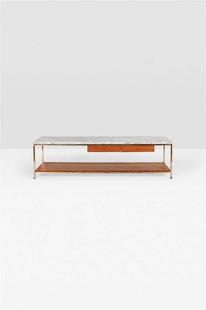 Table basse vitrine tiroir for Table basse vitrine