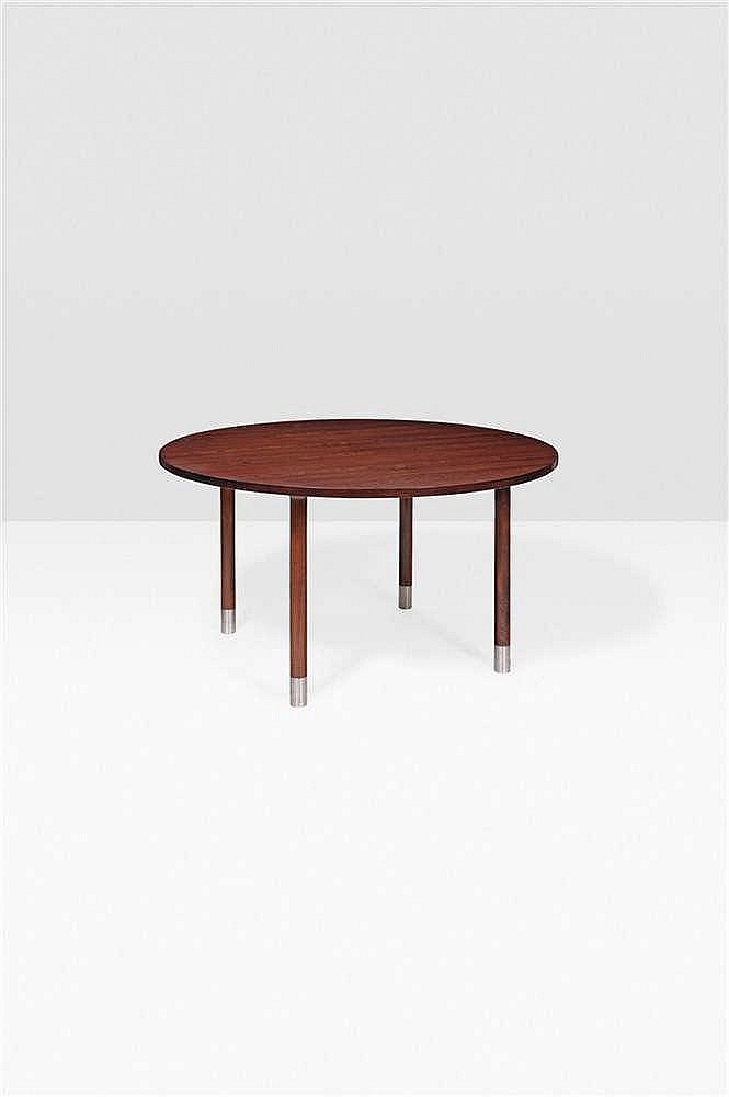 HANS J WEGNER (19142007) Table Palissandre et sabots en m -> Table Tele Palissandre
