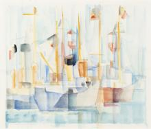 Englebert Van Anderlecht (1918-1961) - Port d'Ostende, 1951