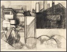 Englebert Van Anderlecht (1918-1961) - Composition géométrique n°1, 1954