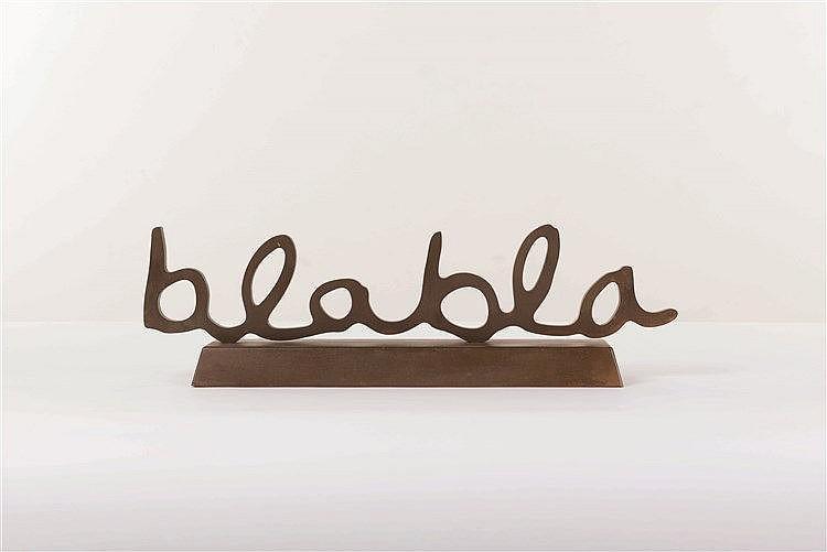 Delphine BOEL (né en 1968)   Blabla, 2008