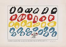 ERIK DIETMAN (1937-2002) Un adhérent du groupe support …, 1983. Gravure sur