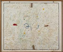 ERIK DIETMAN (1937-2002) Dimanche sans manche, 1979. Acrylique et collage