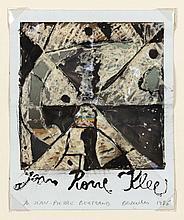 ERIK DIETMAN (1937-2002) Jean Pierre Klee à Jean- Pierre Bertrand, 1985. P