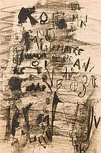 Engelbert Van Anderlecht (1918-1961) Composition, 1956