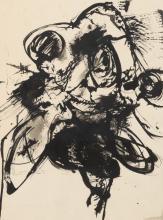 Englebert Van Anderlecht (1918-1961) - Sans titre (n°298), 1957. - Encre et lavis d'encre -