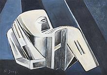 Simonetta Jung (1917 - 2005) Homo Novus, 1975 Goua