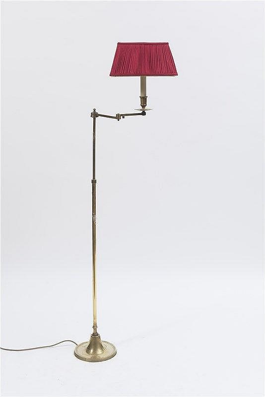 lampe de lecture en laiton dor bras articul travail m