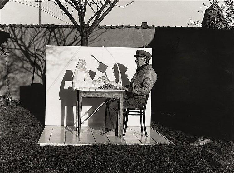 Ron heirman 1936 2013 roger raveel dans son jardin circa for Bruler dans son jardin