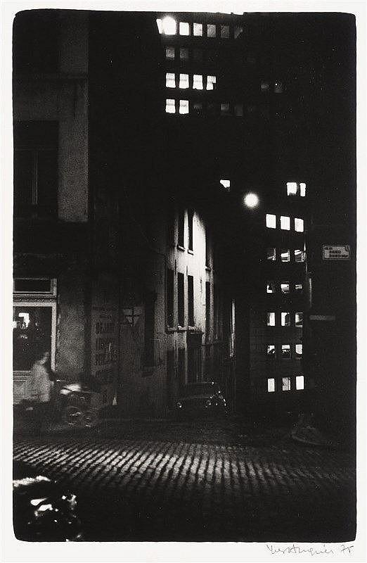 Yves Auquier (Né en 1934)   Bruxelles. Circa 1975