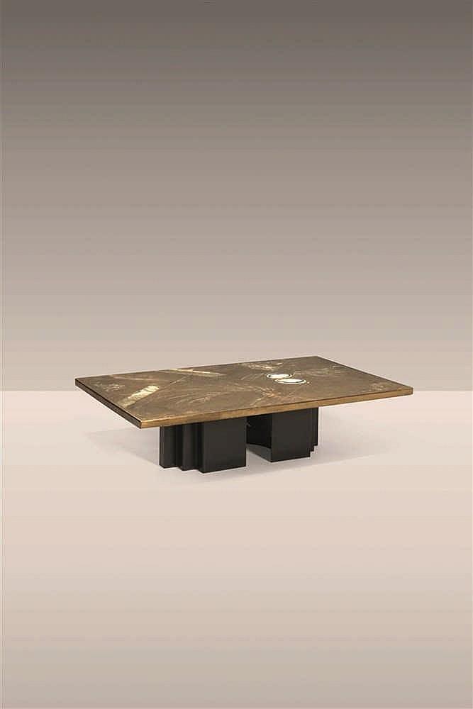 Christian heckscher table basse - Pietement table basse ...