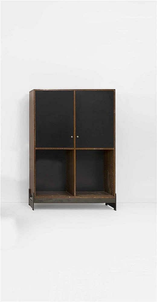jules wabbes 1919 1974 meuble de rangement deux portes. Black Bedroom Furniture Sets. Home Design Ideas