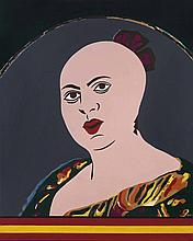 EDUARDO ARROYO (né en EN 1937)  La femme du mineur Perez Martinez dite « Ti