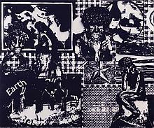 DAVID RATCLIFF (né en 1970) The Elements, 2007.  Acrylique sur toile. Acryl