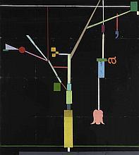 GERT & UWE TOBIAS (né en 1973)  Sans titre, Baum, 2008.  Morceaux de bois c