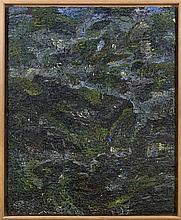 MICHEL FRERE (1961-1999)  Sans titre, 1998.  Huile sur toile. Signée et dat