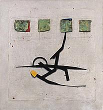 COLE MORGAN (né en 1950)  Uppa Lazy River, 1988  Huile sur toile. Signée, t